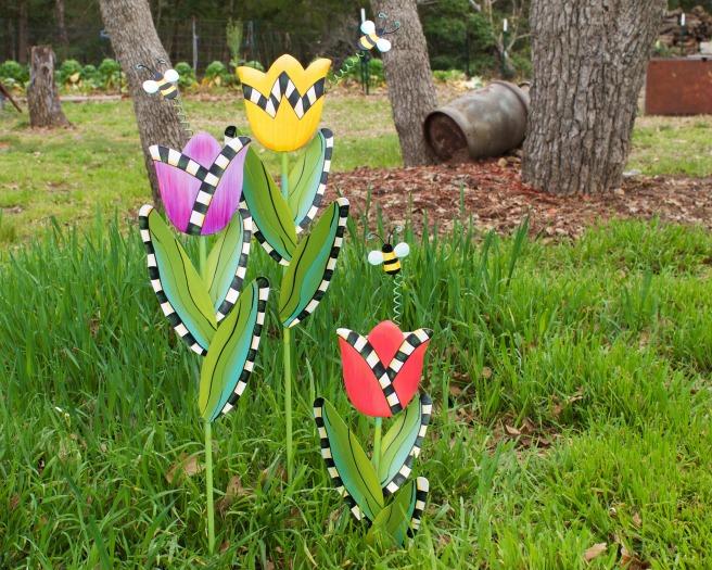 Primitive Spring Tulips